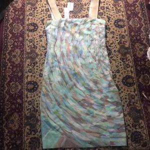 Akris Punto watercolor dress NWT